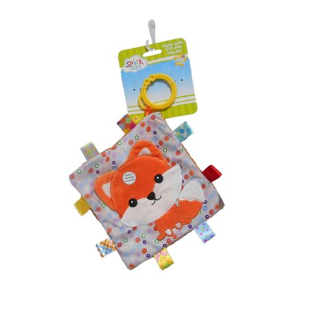 Spark Create Imagine Sensory Plush Taggies Blanket SCI Taggies.