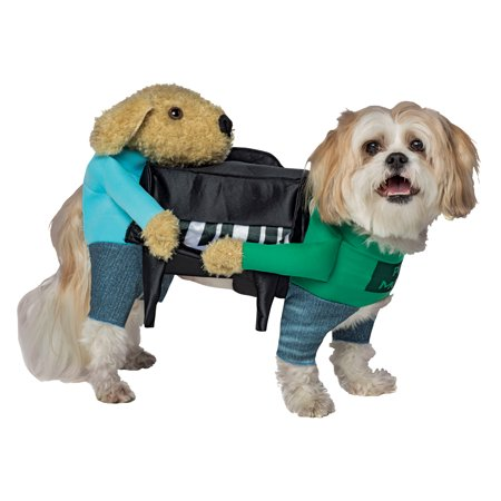 Piano Movers Two Dogs Moving Piano Movers Dog Piano Dog Costume Halloween](Sheep Halloween Costume For Dog)