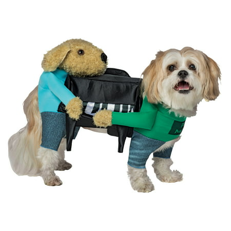 Piano Movers Two Dogs Moving Piano Movers Dog Piano Dog Costume Halloween - Halloween Dog Prank