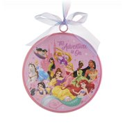 Disney Parks Princess Destined for Greatness Disc Christmas Ornament New w Tags