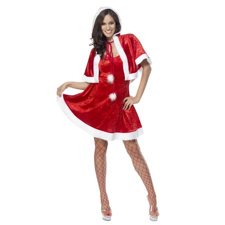 Smiffys Sexy Mrs Santa Claus Helper Adult Christmas Costume