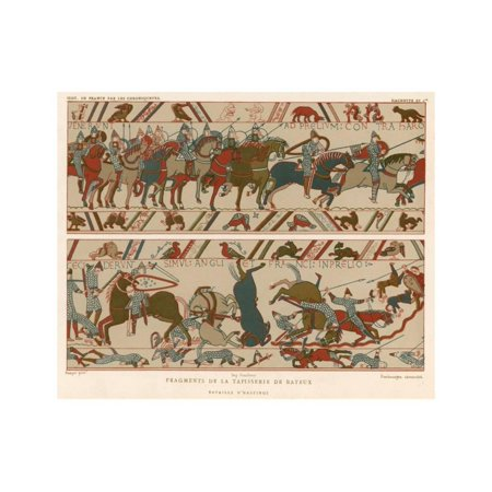 Bayeux Tapestry Print Wall - Bayeux Tapestry Embroidery