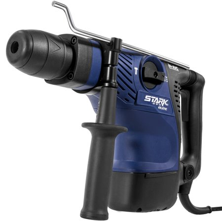 Stark Elite 1350W Rotary Hammer Drill Variable Speed SDS-Plus Bit Concrete with Carrying