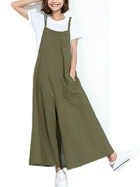 b74d8c372c6 Product Image Women s Casaul Loose Spaghetti Straps Wide Leg Pants Jumpsuits