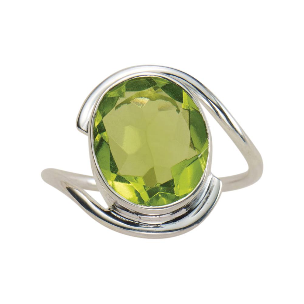 DV Jewels Aqua Chalcedony Gemstone Ring