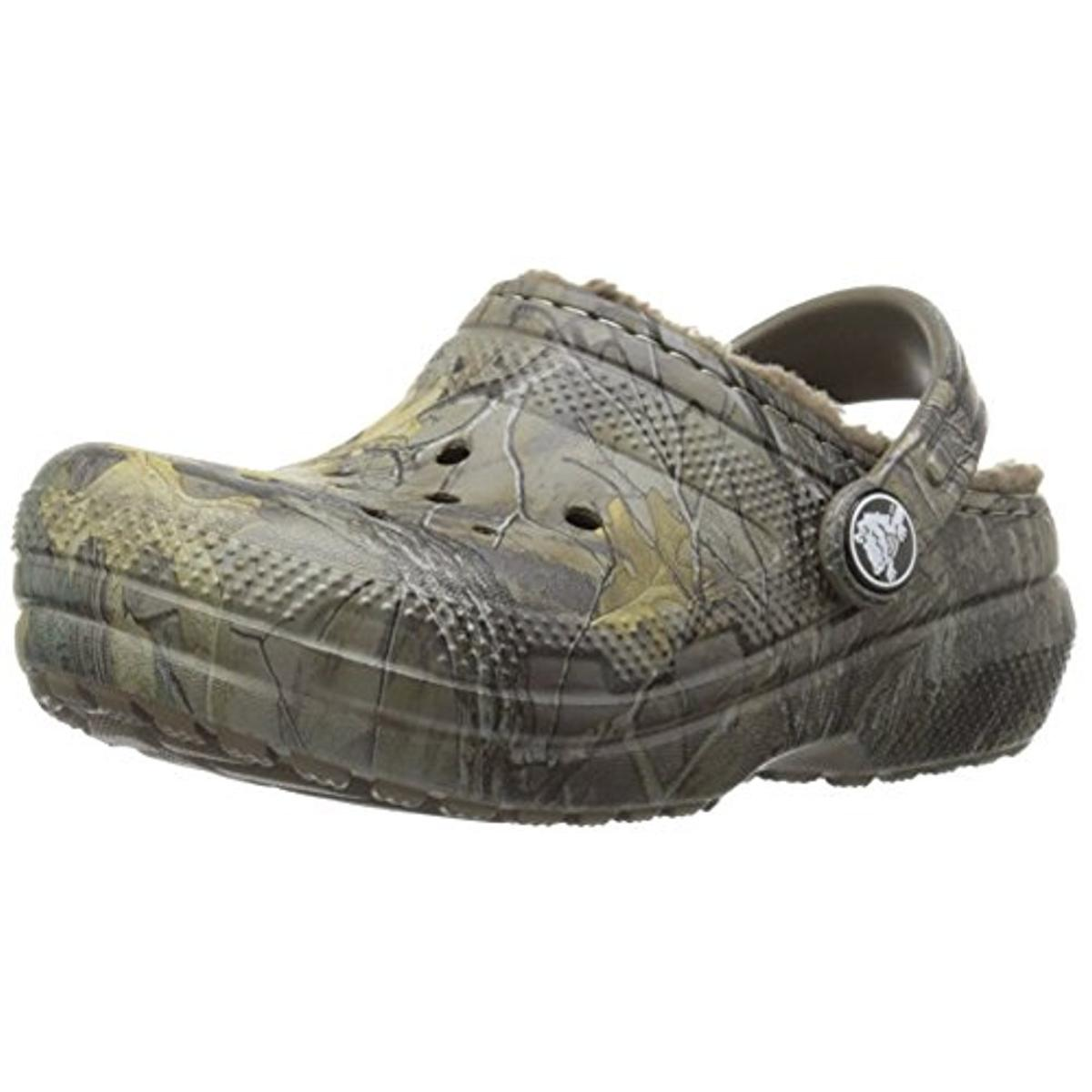 Crocs Boys Classic Realtree Xtra Lined Camouflage Clogs by Crocs