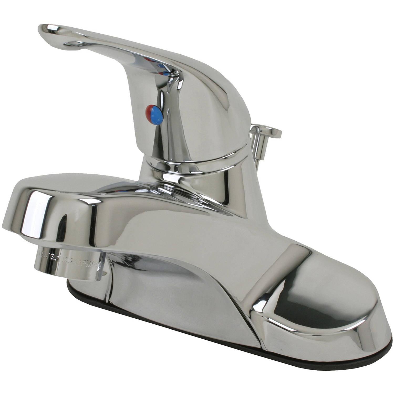 Ultra Faucets UF34020 Chrome Single-Handle Lavatory Faucet