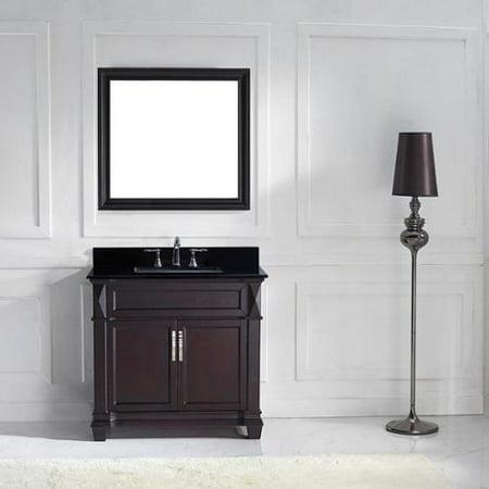 Virtu Usa Victoria 36 Inch Single Bathroom Vanity Cabinet Set