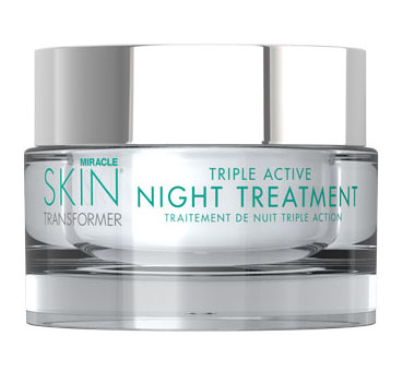 Miracle Skin Transformer Triple Active Night Treatment, 1.7 oz. Petal Fresh, Acne Facial Wash, Pore Clearing, Chamomile + Oatmeal, 7 fl oz(pack of 2)