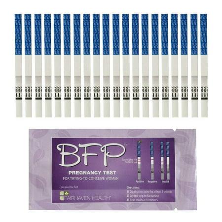 BFP Pregnancy Test Strips: 20 Pack (11 Days Missed Period Negative Pregnancy Test)
