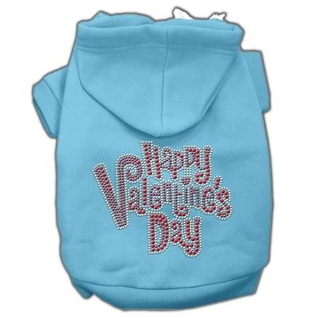 Mirage Pet Products 54-85 XLBBL Happy Valentines Day Rhinestone Hoodies Baby Blue XL - 16 Happy Valentines Day Rhinestone Hoodies Baby Blue XL (16)Product Summary : New Pet Products/Happy Valentines Day Rhinestone Hoodies@Pet Apparel/Dog Hoodies/Rhinestone Hoodies/Happy Valentines Day Rhinestone Hoodies@Pet Products for Events and Holidays/Valentines Day Pet Accessories/Happy Valentines Day Rhinestone Hoodies- SKU: MR54-85XLBBL