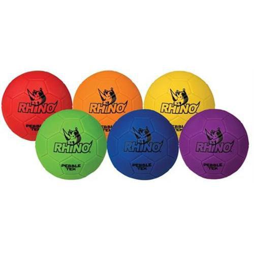 Olympia Sports BL289P Rhino Skin- Pebble-Tek Soccer Balls