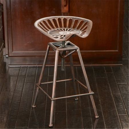Excellent Aldean Red Industrial Design Metal Tractor Adjustable Height Seat Stool Ncnpc Chair Design For Home Ncnpcorg