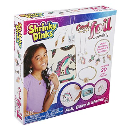 Shrinky Dinks Cool Foil Jewelry, Silver - image 1 of 1