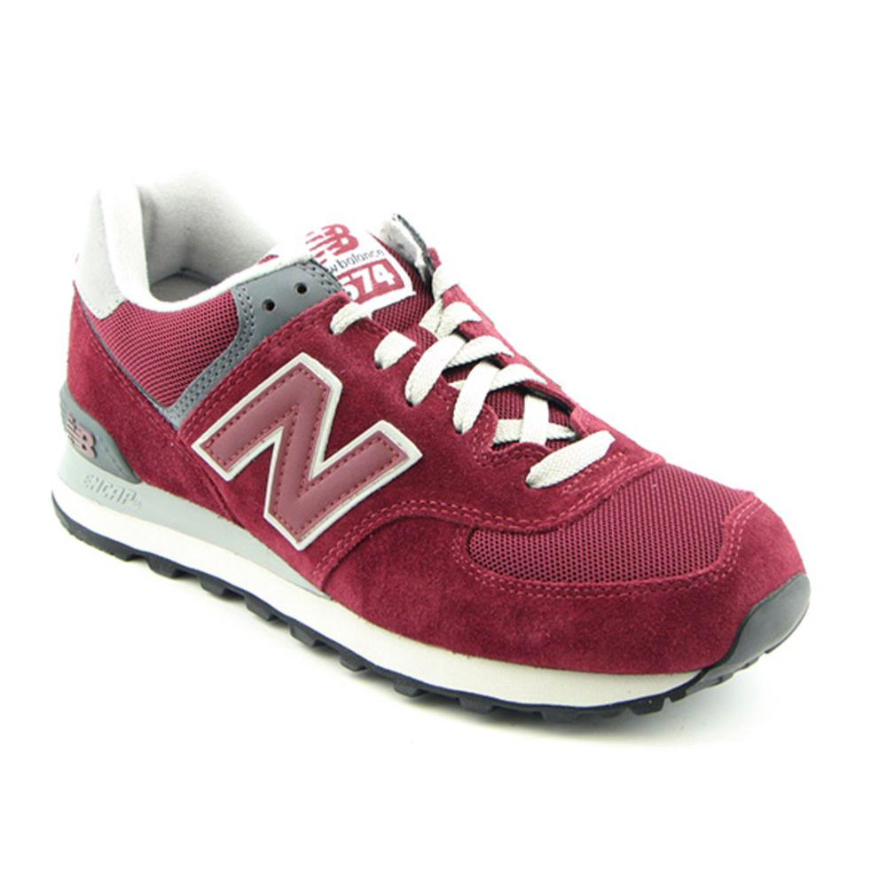 New Balance M574   Round Toe Suede  Fashion Sneakers