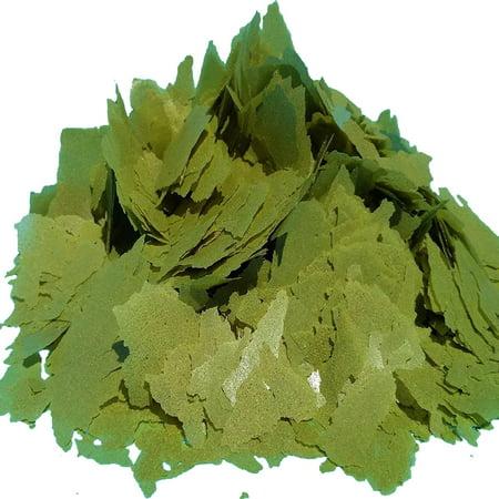 Aquatic Foods Vegetable Mix Intense Flakes - Premium Tropical Fish Foods - 1/4-lb