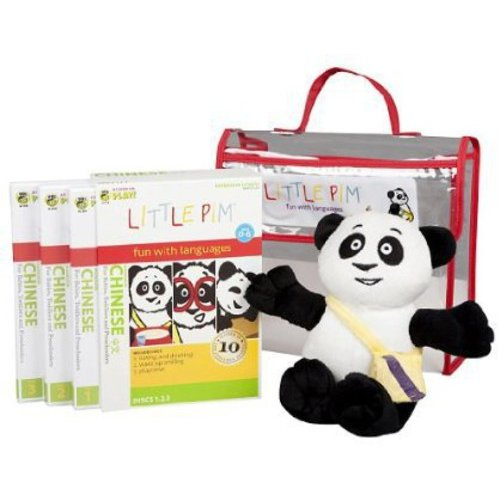 Little Pim Mandarin Chinese For Kids Discovery Language Set (Vol. I)