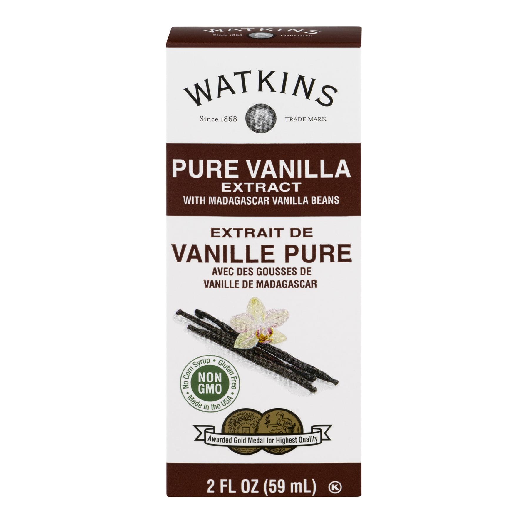 Watkins Pure Madagascar Bourbon Vanilla Extract, 2 fl oz