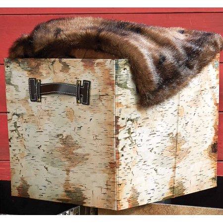 Birch Bark Folding Storage