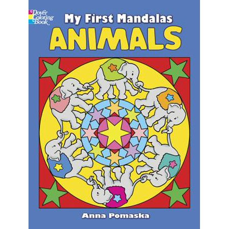 my first mandalas animals dover coloring books