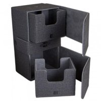 Legion Supplies LGNBF03174 Convertible Dual Deck Box - Black
