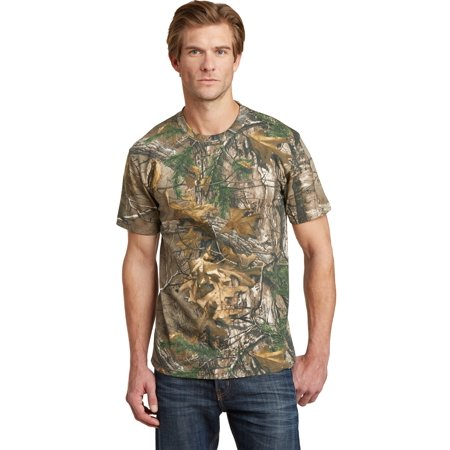 Russell Outdoors NP0021R Realtree Explorer 100% Cotton T-Shirt, Realtree Xtra, S