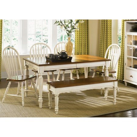 Liberty Furniture Low Country Sand Rectangle Leg Dining Table ()