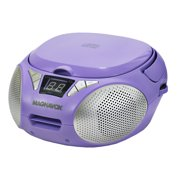 Best Cd Player For Kids - Magnavox MD6924-PL Portable Top Loading CD Boombox Review