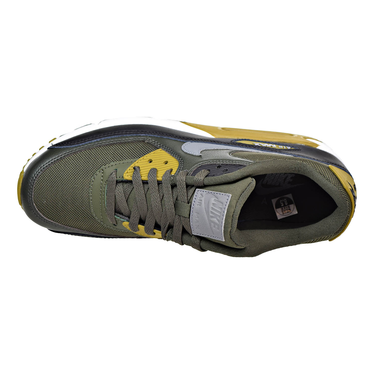 cheap for discount dc732 66ee6 Nike - Nike Air Max 90 Essential Mens Shoes Cargo KhakiCool GreyBlack  537384-307 - Walmart.com