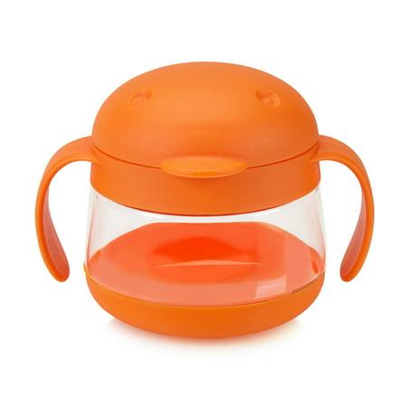 Ubbi Tweat Snack Cup, Orange](Baby Snack Containers)
