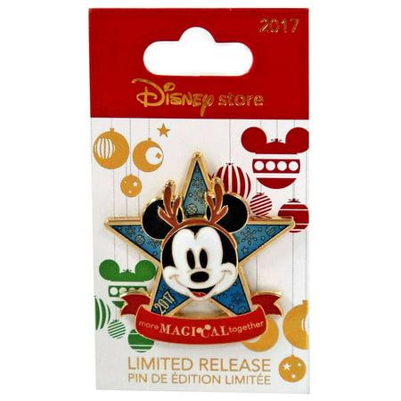 Disney Holiday 2017 Mickey Mouse Pin (Disney Pins Halloween 2017)