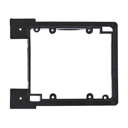 107063 Low Voltage Mounting Bracket for New Construction, 2-Gang, Install wire without needing an electrical box By Monoprice