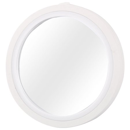 Auto SUV Universal Rear View Convex Wide Angle Side Blind Spot Mirror White (Landrover Side Mirror Lr3)