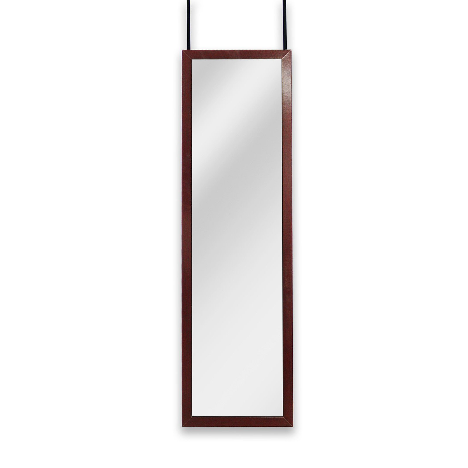 Mirrotek Over the Door   Wall Mounted Full Length Dressing Mirror by Mirrotek International Llc.
