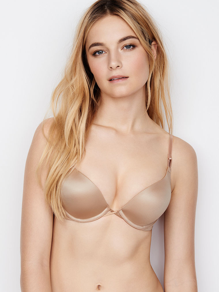 ffcea0f189e4b Victoria s Secret - Victoria s Secret Bombshell Miraculous Plunge Push-up  Add 2 Cups Bra - Walmart.com