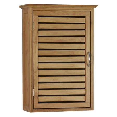 Gallerie Decor Bamboo Natural Spa Wall Cabinet