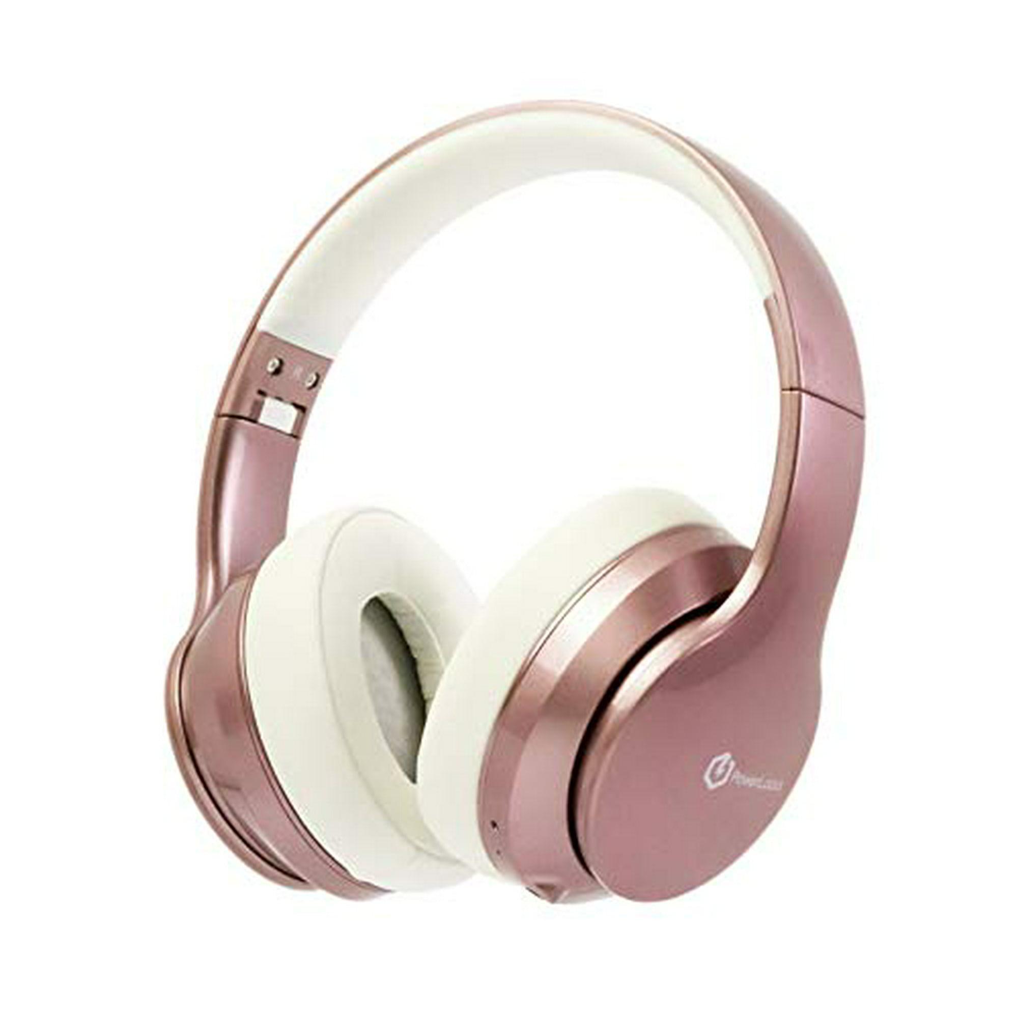 Powerlocus Bluetooth Headphones Over Ear Wireless Headphones Super Bass Hi Fi Stereo Sound 20hrs Battery Life Soft Walmart Canada