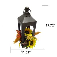 Way to Celebrate Fall Lantern Artificial Flower Arrangement, Multiple Colors
