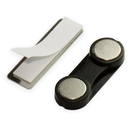 100 Sets CMS Magnetics® 2Mag-3 Magnet Plastic Neodymium Name Badge Magnets