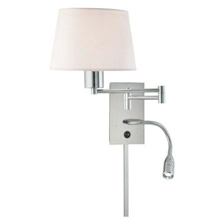 George Kovacs By Minka P478 077 2 Light Wall Lamp Chrome 7w In