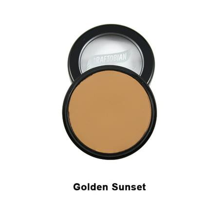 Golden Sunset HD Glamour Creme Foundation 5oz Graftobian Cruelty Free USA Crème - image 1 of 1