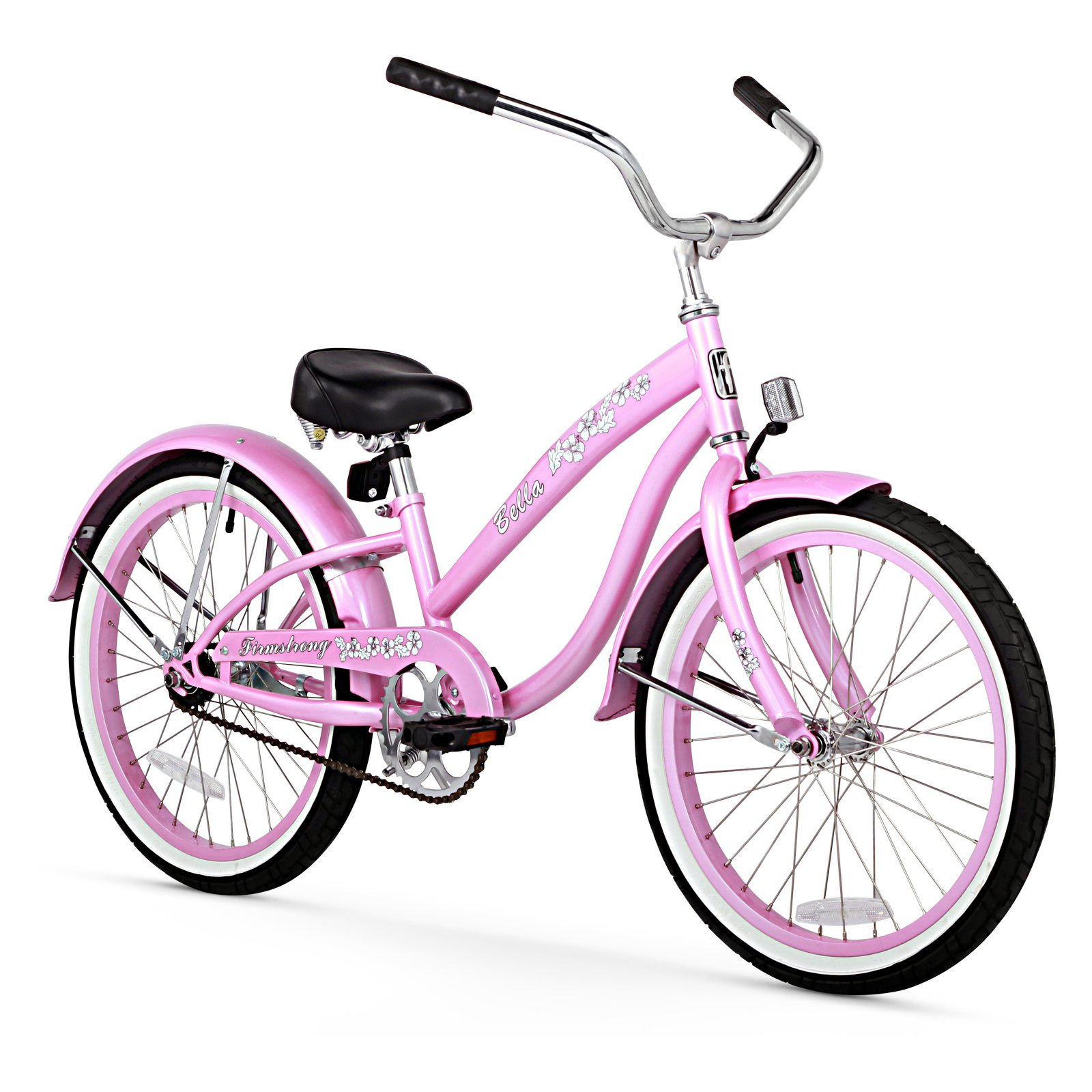 "Firmstrong 20"" Girl's Bella Classic Cruiser, 1 Speed"