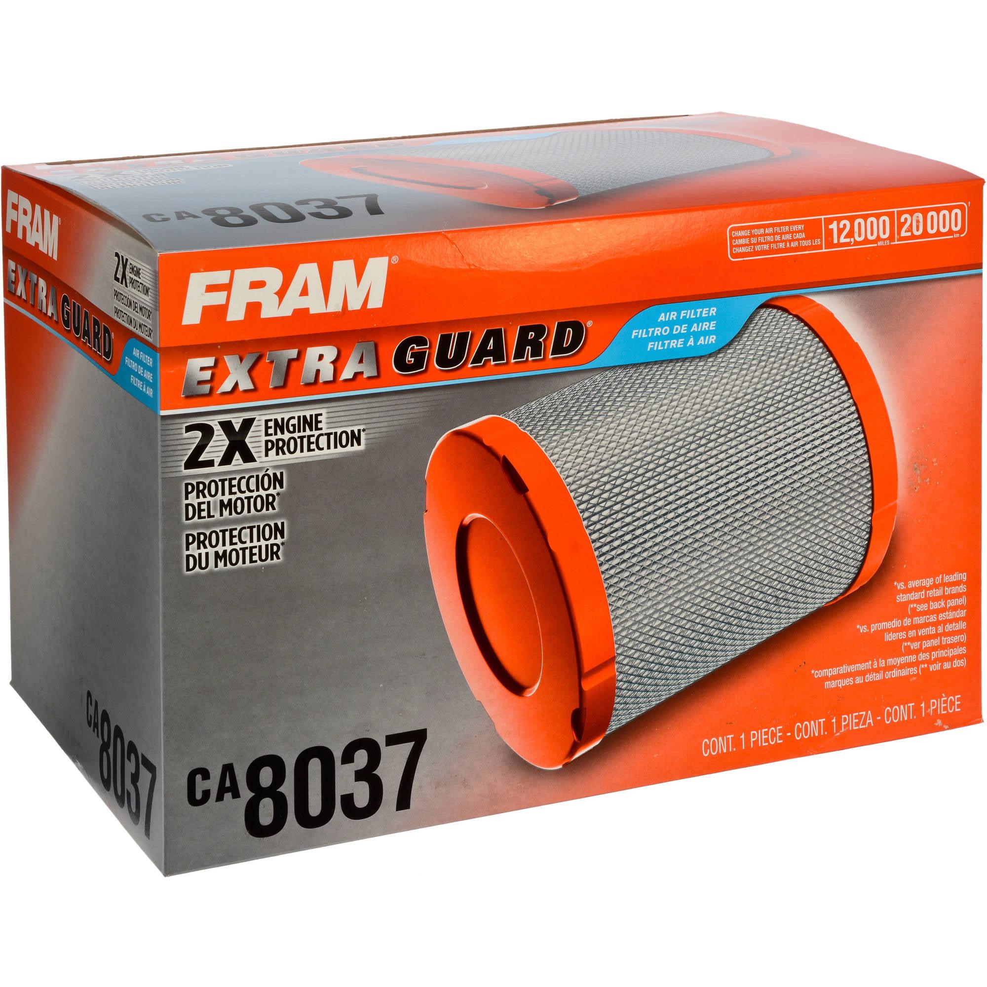 FRAM Extra Guard Air Filter, CA8037