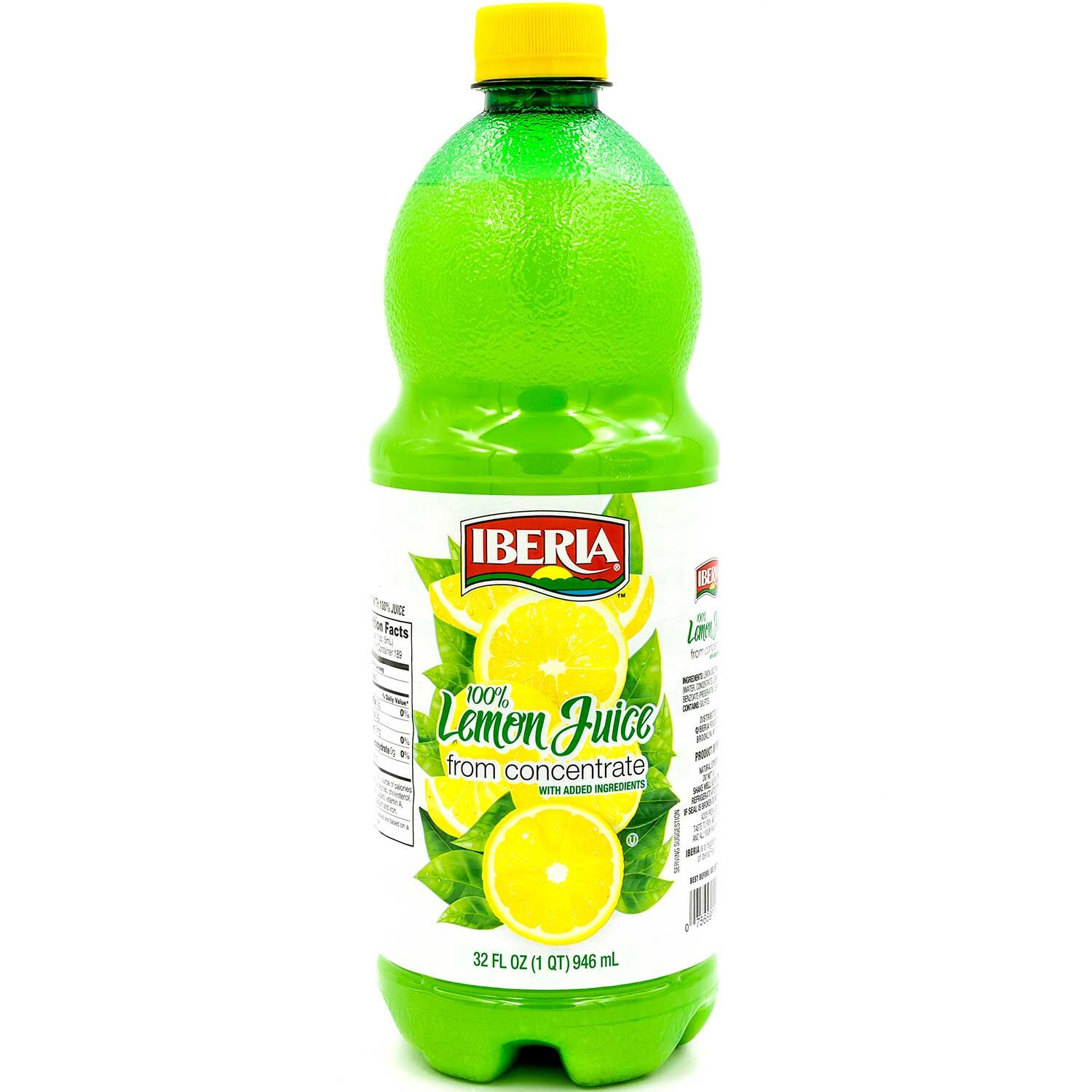 Iberia Juice From Concentrate, Lemon, 32 Fl Oz, 1 Count