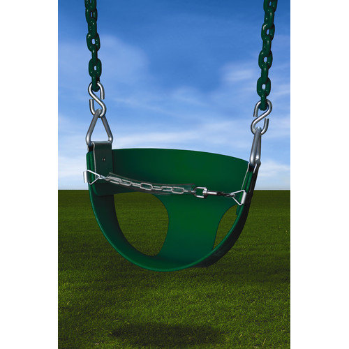 Gorilla Playsets Half Bucket Swing