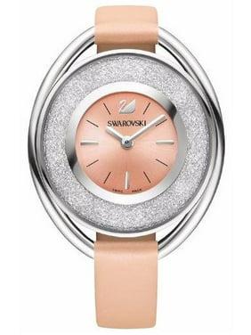 Product Image Swarovski Crystalline Oval Light Rose Ladies Watch 5158546 4cbf7124c1b