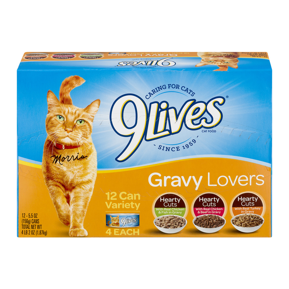 Image of 9Lives Gravy Lovers Variety Pack - 12 CT