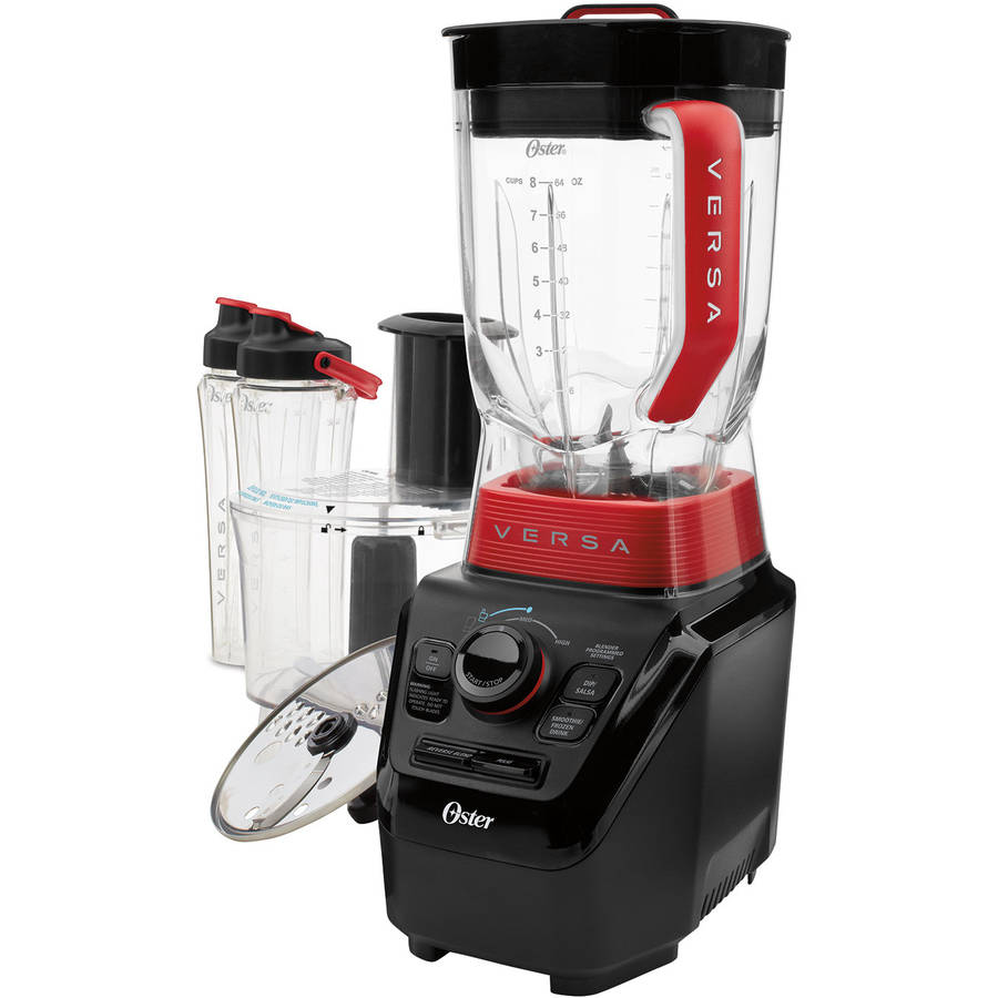 Oster Versa Performance Blender with Food Processor and Blend N' Go Accessories, BLSTVB-103-000