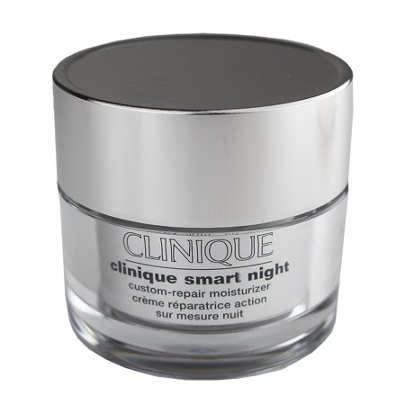 Clinique Smart Night Custom-Repair Moisturizer Cream Dry Combination Skin., 1oz/30ml Clinique Night Moisturizer