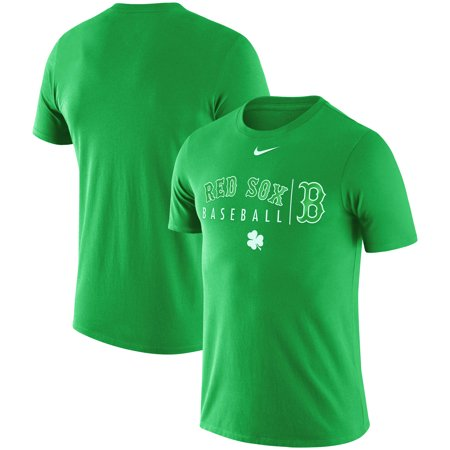 huge selection of 4945d f3ab8 Boston Red Sox Nike MLB Practice T-Shirt - Green